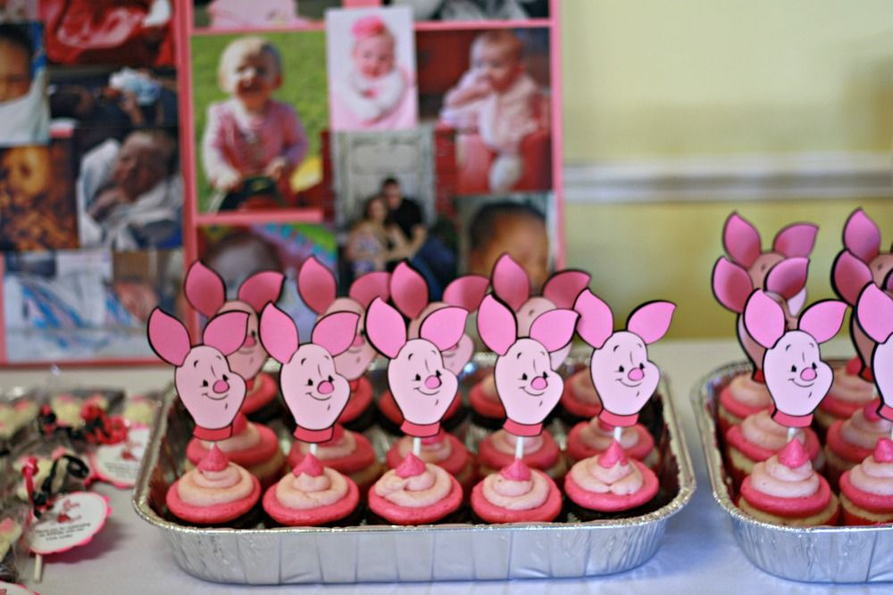 Fun ideas for a piglet themed birthday party for your child. Best tips and tricks for a piglet birthday party learned from my daughter's 1st birthday.