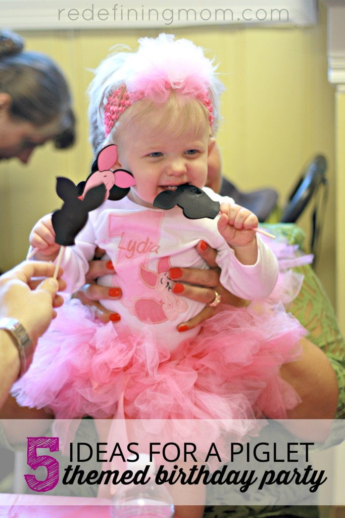 5 fun ideas for a piglet themed birthday party for your child. Best tips and tricks for a piglet birthday party learned from my daughter's 1st birthday.