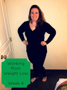 Working Mom Weight Loss Week 4