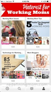Pinterest for Working Moms