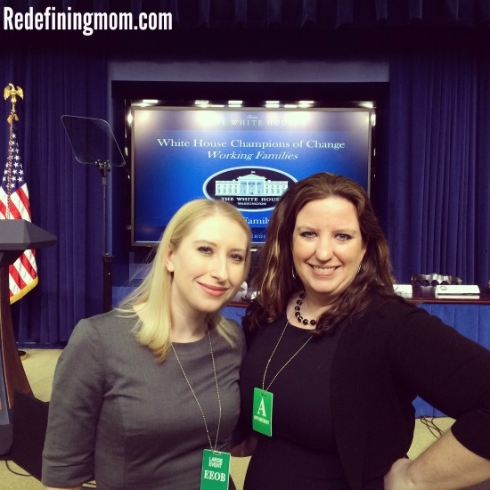 My trip to the White House for Champion of Change for Working Families