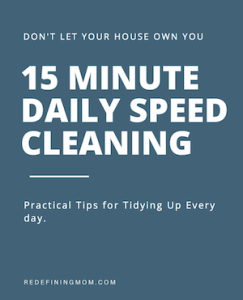 15 Minute Speed Cleaning