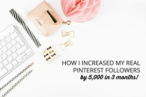 How to Increase Real Followers on Pinterest
