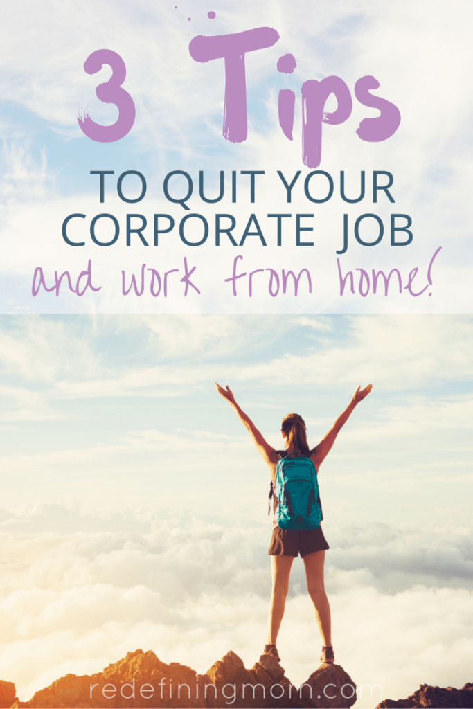 Working mom, have you wanted to quit your job but didn't know how? I quit my corporate career after 10 years to find flexibility that supports both my career and family. I used FlexJobs and started working on my own online business. Learn how to be a work-at-home mom and rock being a mompreneur!