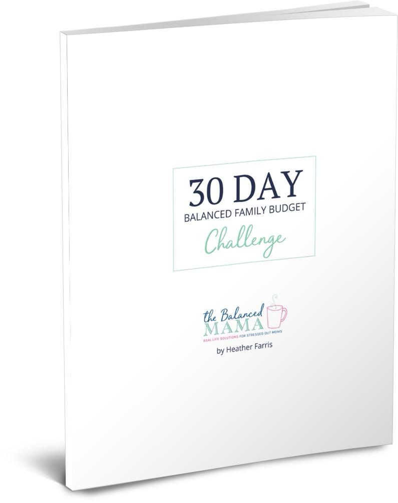 Balance Mama Budget Challenge by Heather Farris