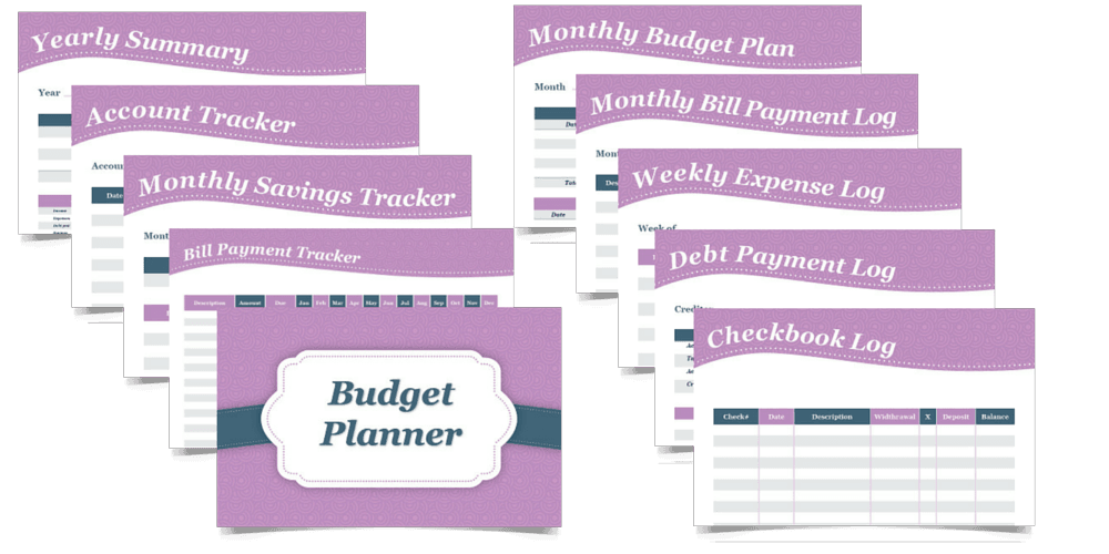 log, bill payment tracker, monthly bill payment log, monthly budget ...