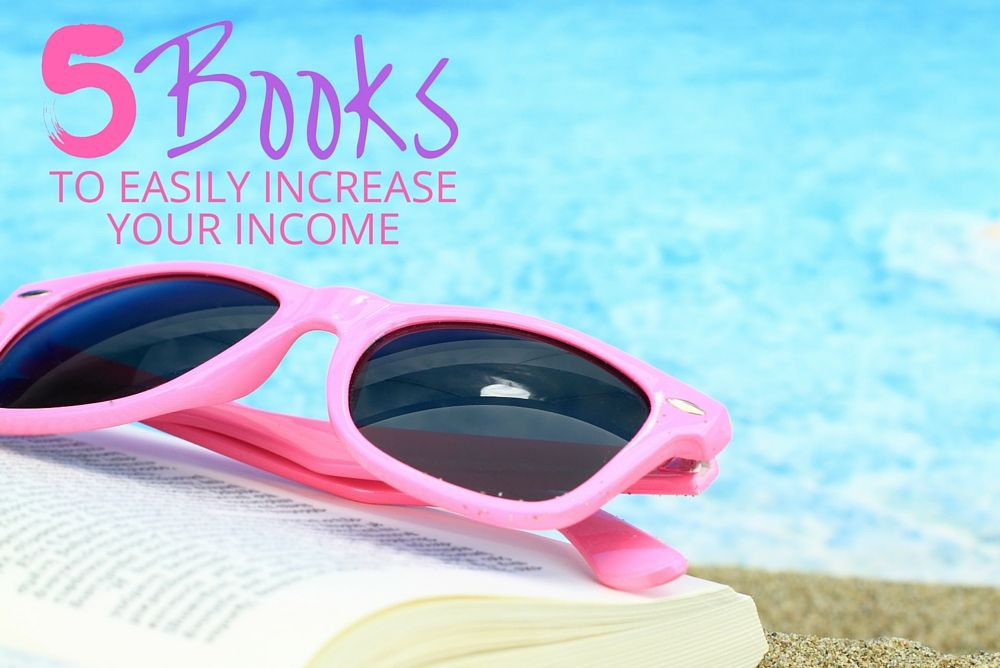 If you're not a frugal person who likes to save, your only option is to make more money! Read these 5 books for tips on how to easily increase your income. All of these books are not typical suggestions that you usually find people recommending. These are amazing books about money that anyone can learn from, especially if you are looking to make money from home, grow your own business, or start a blog!