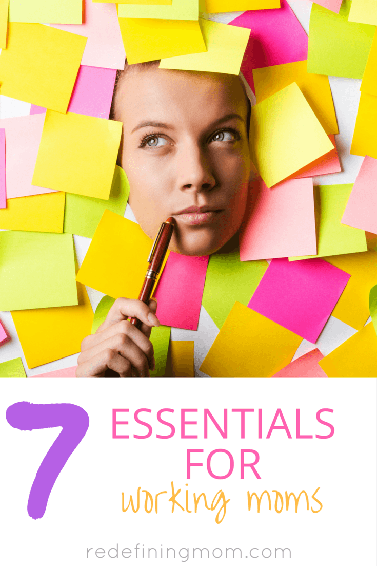 7 essentials for working moms includes everything you need to manage your mornings, take care of your kids, stay organized, and do it all while being stylish!