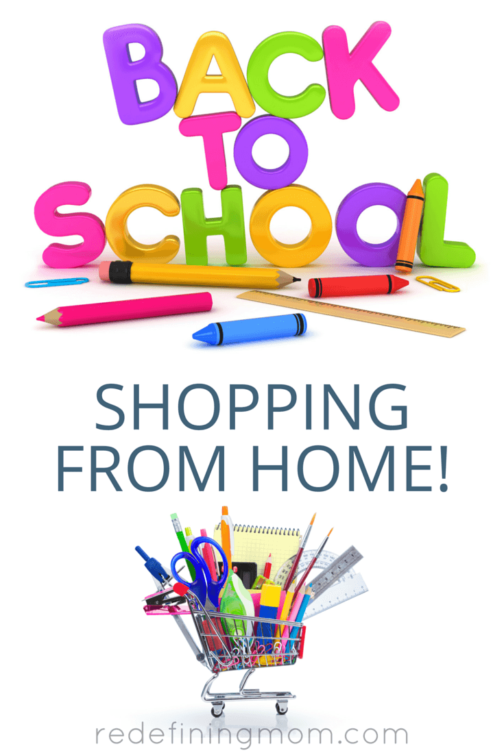 Save yourself a lot of time and hassle by doing all your back to school shopping from home! Don't fight the crowds or waste precious summer time stressing about back to school shopping. These are my best time management tips to help you save time!