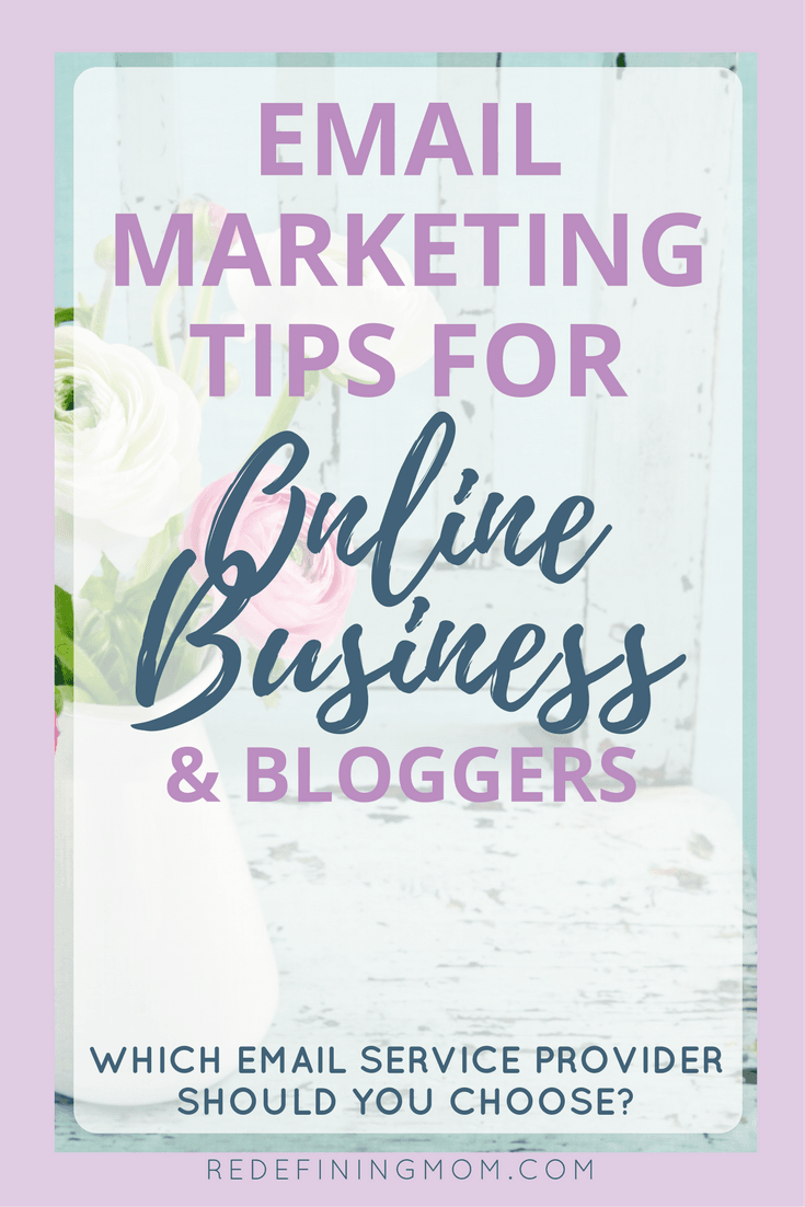 Email marketing tips for online business and bloggers. MailChimp or ConvertKit? Learn the two major things you should consider before making a choice! Email marketing strategy entrepreneur / Email list growth / Make money from home / How to start a blog