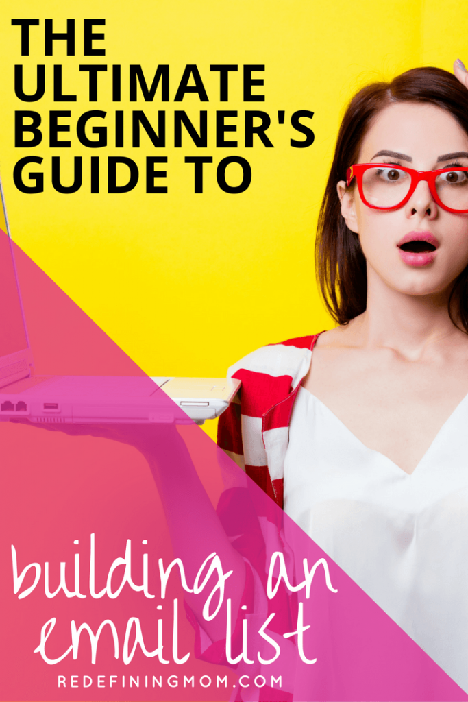 Ultimate Beginner's Guide to Building an Email List / Email marketing tips for online business and bloggers. MailChimp or ConvertKit? Learn the two major things you should consider before making a choice! Email marketing strategy entrepreneur / Email list growth / Make money from home / How to start a blog