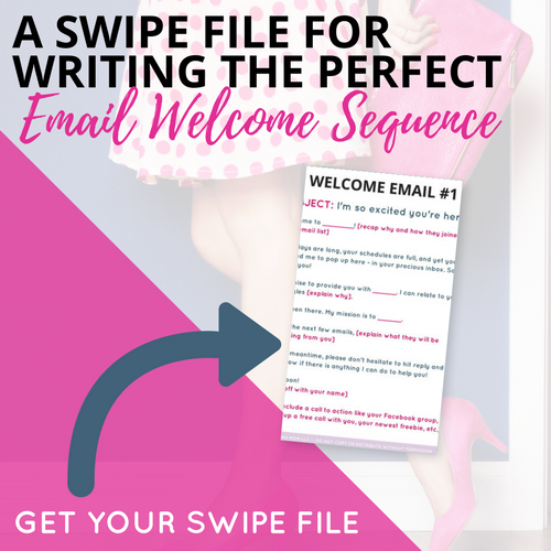 email marketing tips for bloggers, download my free email welcome sequence today!