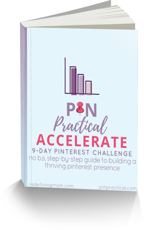 Pin Practical Accelerate: 9-Day Pinterest Challenge