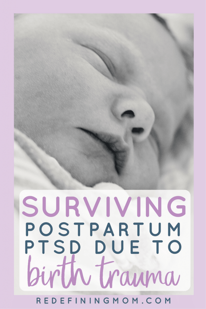 How to cope with postpartum PTSD birth trauma. This is my story about how it took me 18 months to be diagnosed and the crippling anxiety I have about giving birth to my second child 2 years later. Postpartum PTSD, postpartum depression, birth trauma, postpartum help.