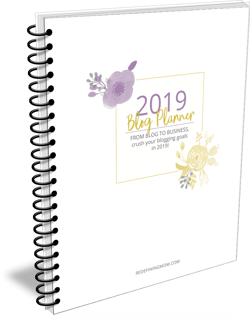 Download your printable blogging planner for 2019