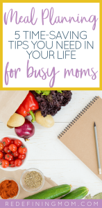 Working from home can be a struggle when you're a mom entrepreneur. Meal planning for busy moms can save you hours each week to put back into your business. Meal Planning on a Budget | Time Management for Moms | Meal Planning Family | Meal Planning Template | Meal Planning Ideas