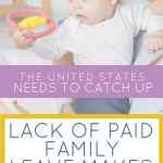 Breastfeeding and pumping for working moms is harder for working moms because of paid family leave laws in the United States.