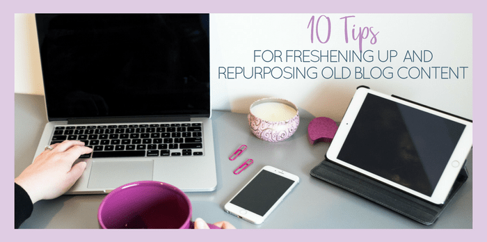 Learn how to repurpose content for those times that your creative juices aren't freely flowing.