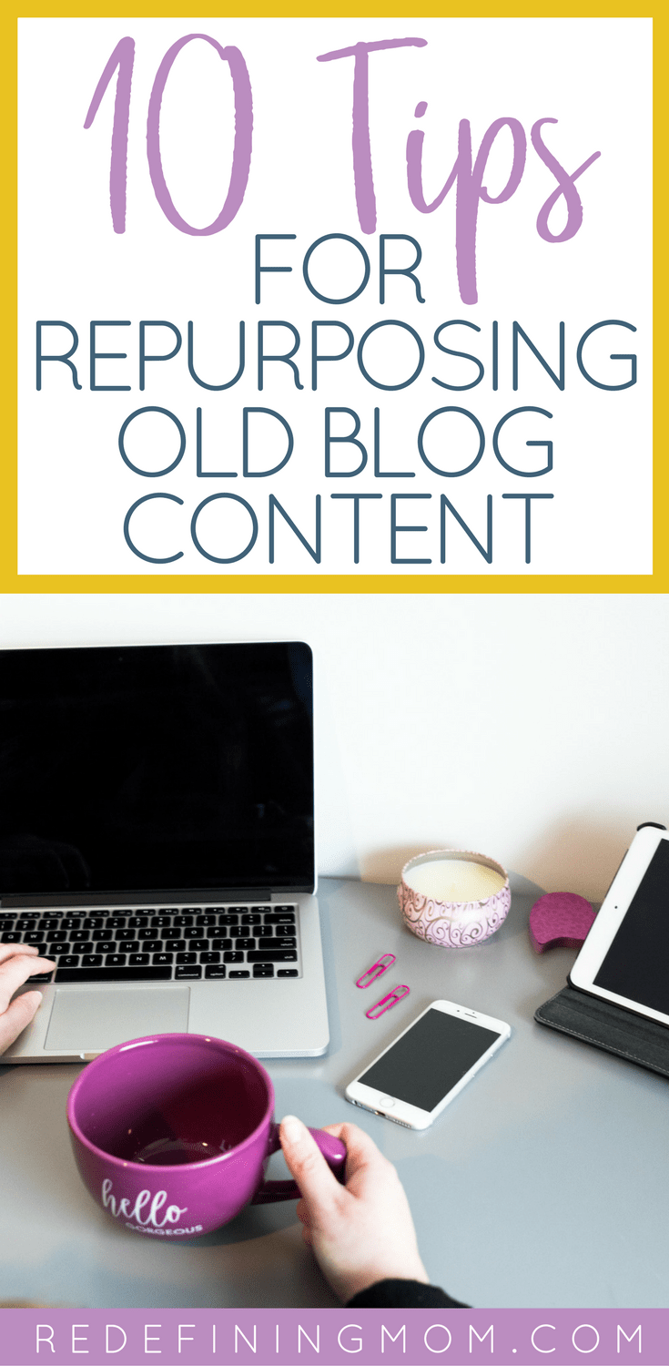 Learn how to repurpose content for those times that your creative juices aren't freely flowing. Blog post topics idea | Blog post topics ideas | Blog post inspiration ideas | Repurpose blog content | how to blog | start a blog