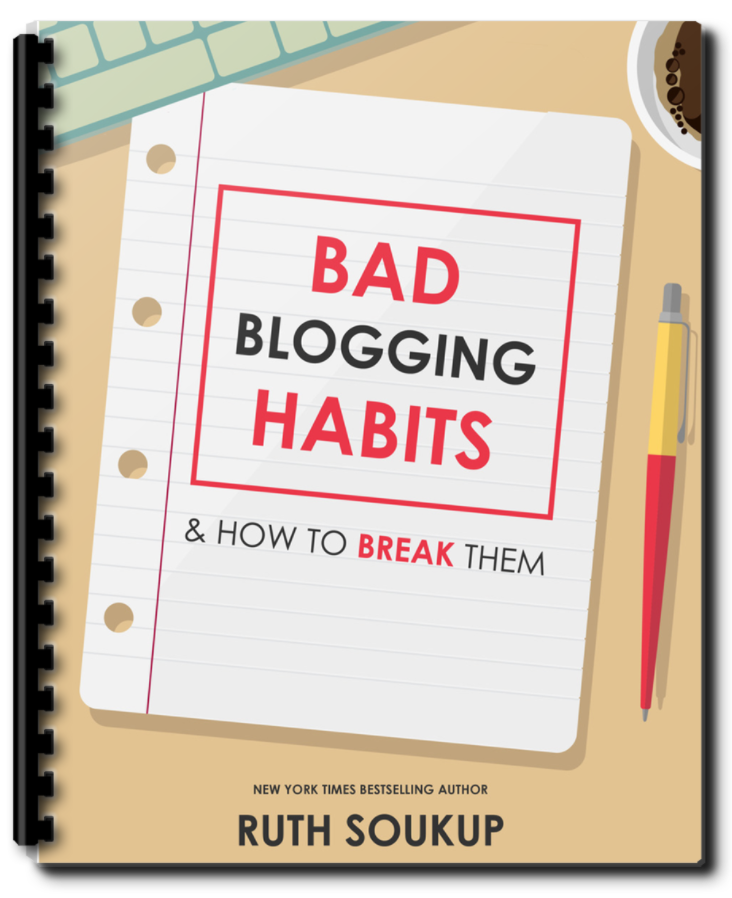 Download this free resource from Elite Blog Academy: 8 Bad Blogging Habits and How to Break Them