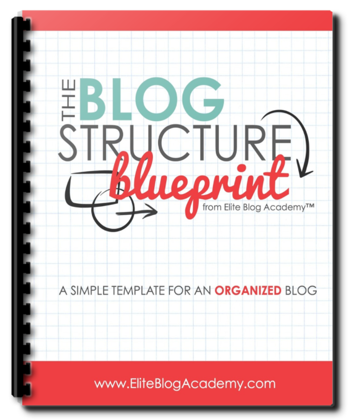 Download your free resource from Elite Blog Academy: Blog Structure Blueprint