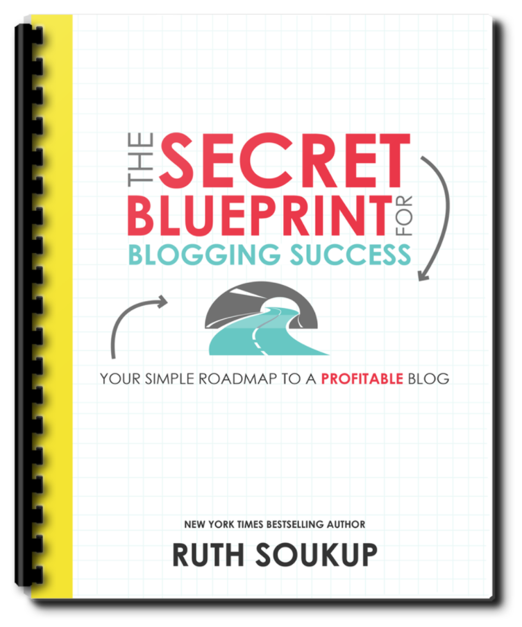 Download your free resource from Elite Blog Academy, The Secret Blueprint for Blogging Success ​