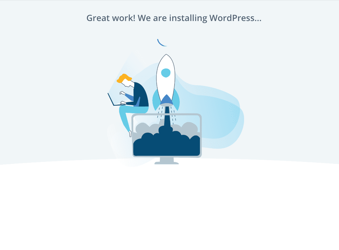 install wordpress on your bluehost hosting site