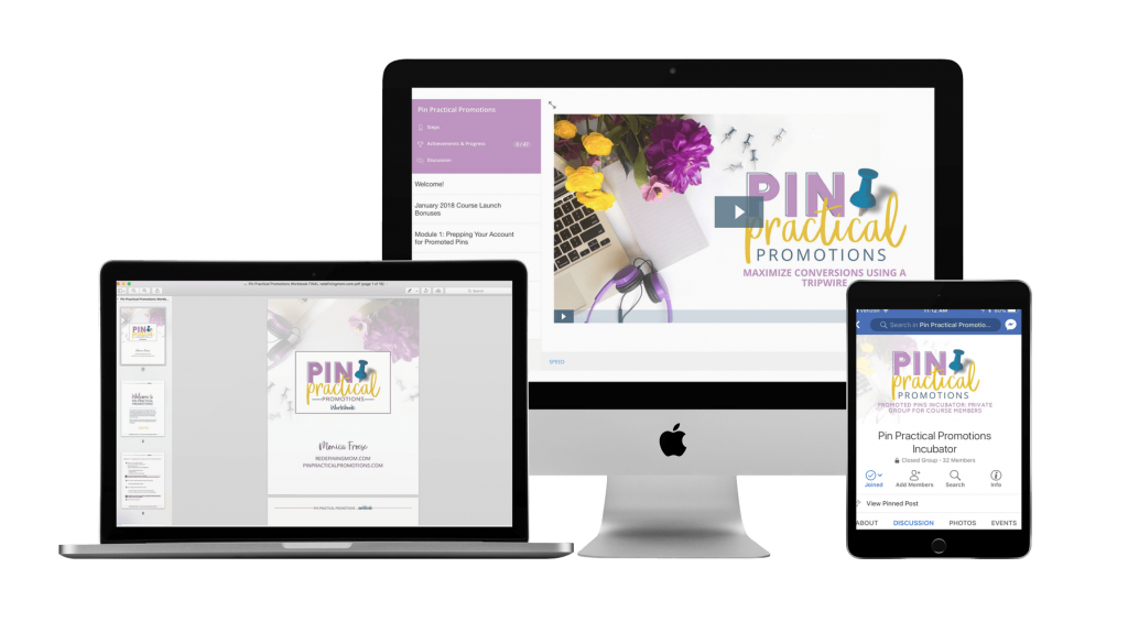 Pin Practical Promotions, an advanced-level course on promoted pins