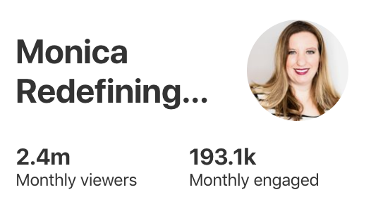 do pinterest profile monthly views matter?