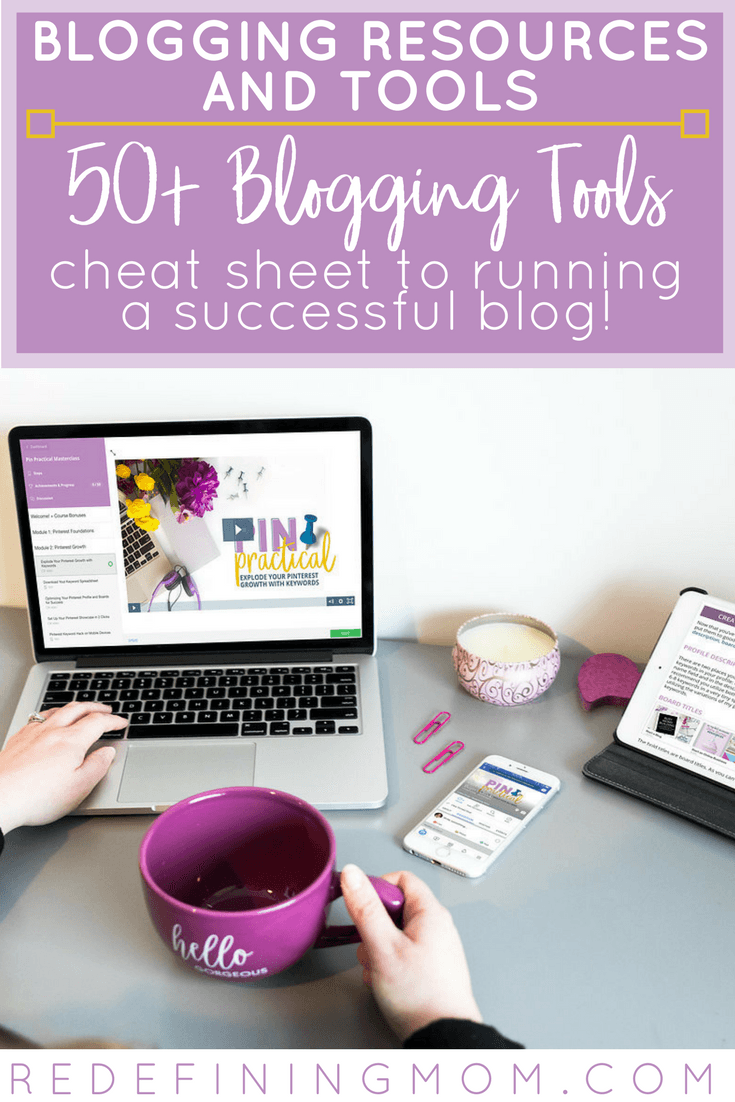 50+ of the best blogging resources & tools for running a successful blog! Learn how to blog and make money from home! Start a blog to make money / Blogging for beginners / Start an online business