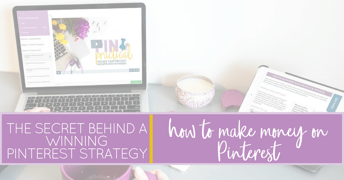The Secret Behind How to Make Money on Pinterest...it will ...
