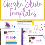 Creating Pinterest templates for your blog posts can be time-consuming. Learn how to use Google Slides to create Pinterest templates.