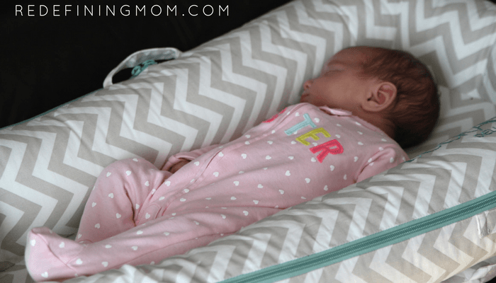 DockATot review for c-section mom