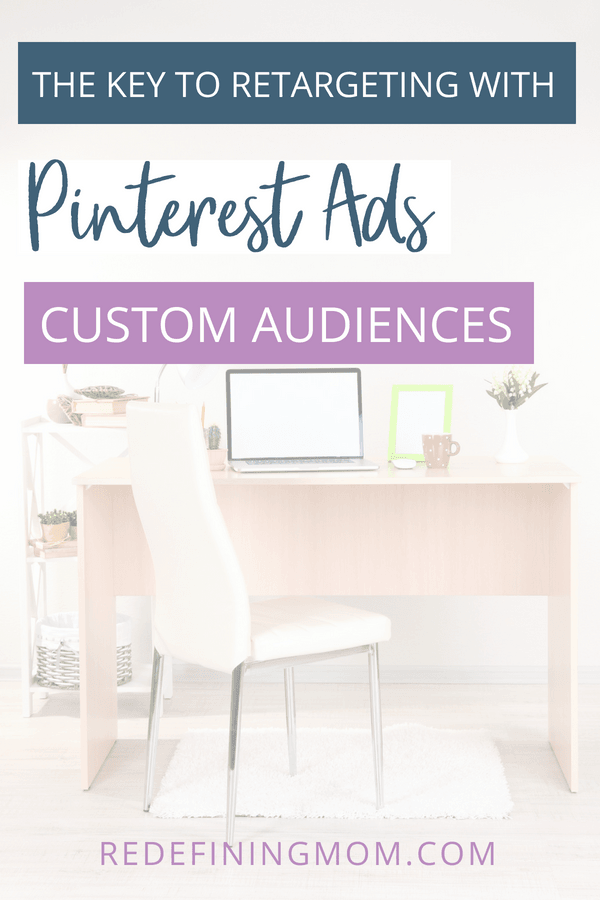 Learning how to retarget on Pinterest using custom audiences for your promoted pin campaigns, it's so easy!