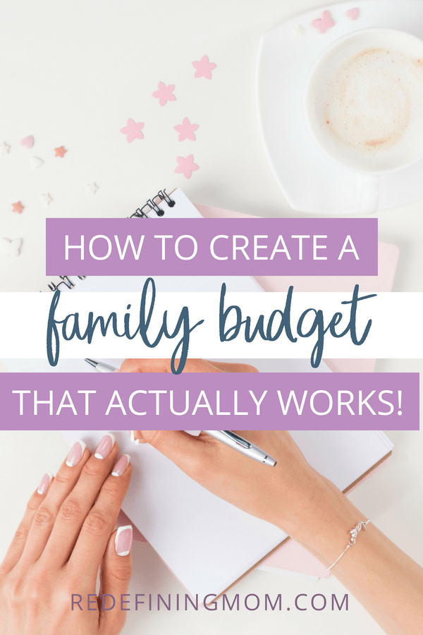 Do you struggle with creating a family budget and sticking to it? I have the perfect family budget spreadsheet to help you manage your family's finances! Learn how to create a family budget that actually works with these budget tips.