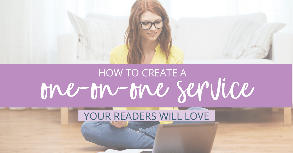If you're looking to grow your audience and get closer to them, offering a one-on-one service could be a great way to increase your income and add additional revenue streams as a blogger.