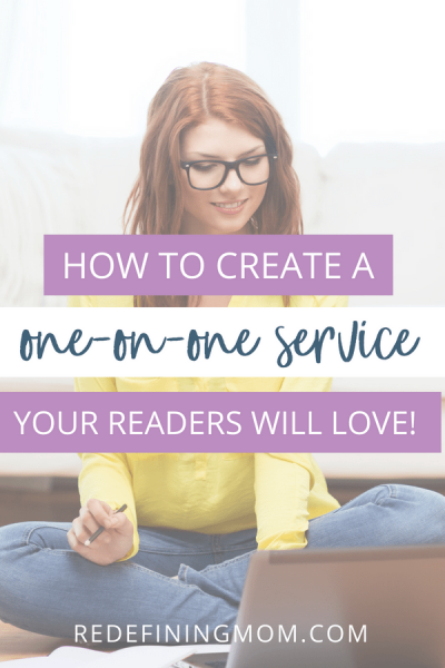 If you're looking to grow your audience and get closer to them, offering a one-on-one service could be a great way to increase your income and add additional revenue streams as a blogger