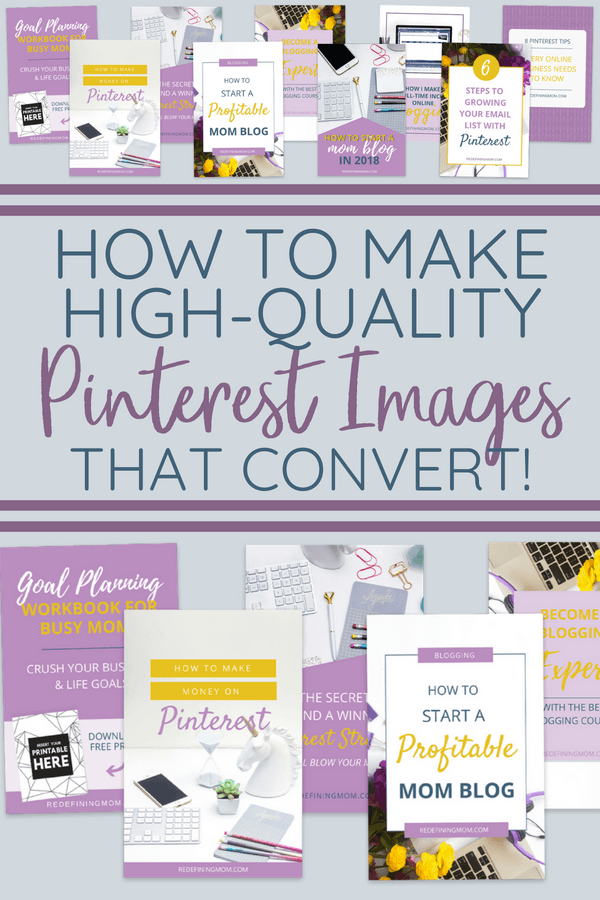 Do you struggle with making Pinterest images that convert into sales? Canva Pinterest image templates will make your life so much easier! Learn how to make Pinterest images the right way in mere minutes.