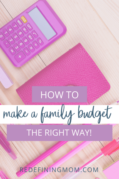 With these 11 simple steps, you can easily make a family budget spreadsheet and start tracking your household finances today. Learning how to make a budget is easier than you may think!