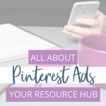 Using Promoted Pins, or Pinterest Ads as they're sometimes called, is one of the best Pinterest strategies you can ever leverage. I've rounded up the best resources for making money on Pinterest, creating Promoted Pins, driving more traffic to your site, plus more!
