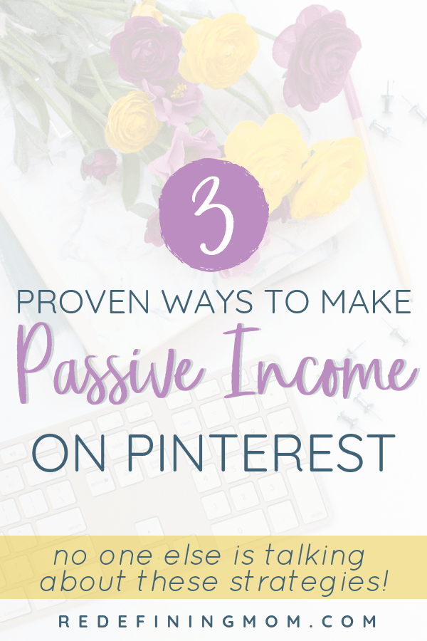 Learn the simple formula for turning your free Pinterest traffic into passive income! My exact strategies for how to make money on Pinterest with affiliate marketing even without a blog.