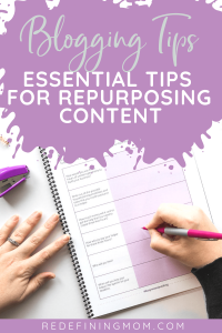 Get more use out of your content with these amazing blogging tips! Repurposing content is a great way to be more efficient in your business.