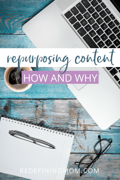 When I'm growing my business, repurposing content is one of the most important things I've learned and that I want to share with fellow entrepreneurs. It's the best way to be a more productive blogger and content creator.