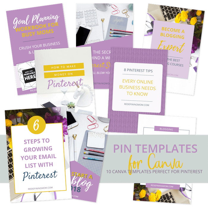 Pinterest Canva Templates