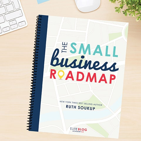 Download your small business roadmap from Elite Blog Academy