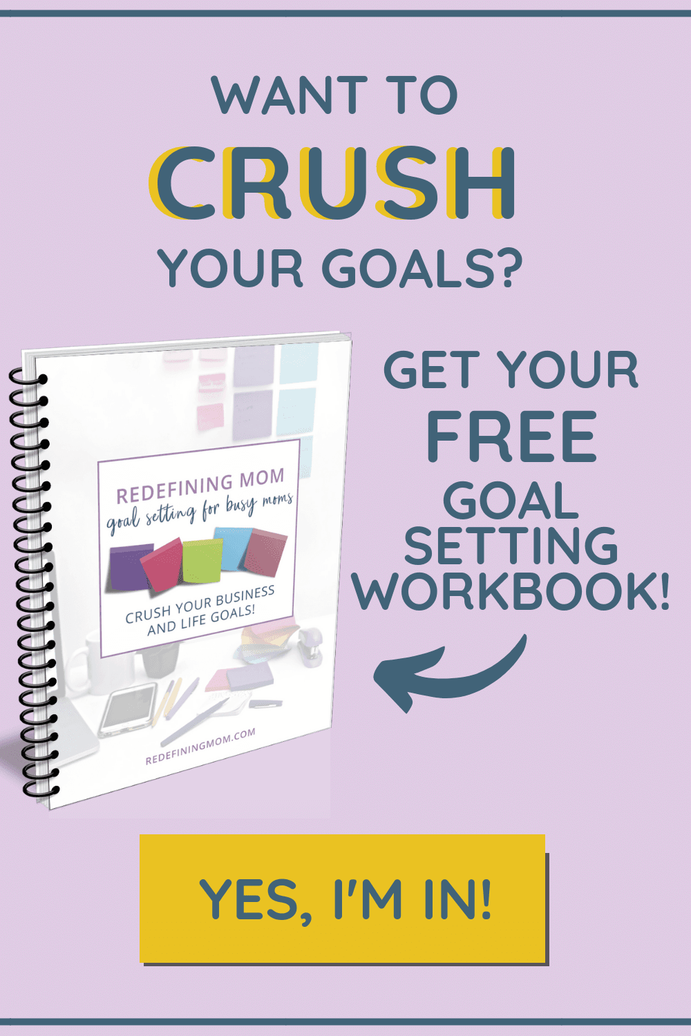 I am so glad I found this goal setting workbook! I was struggling so much with prioritizing my time between work and home. I always thought, who has time for goal planning?! These free goal setting printable worksheets are the best! Enter your name and email for instant access. #goalplanning #goalsetting