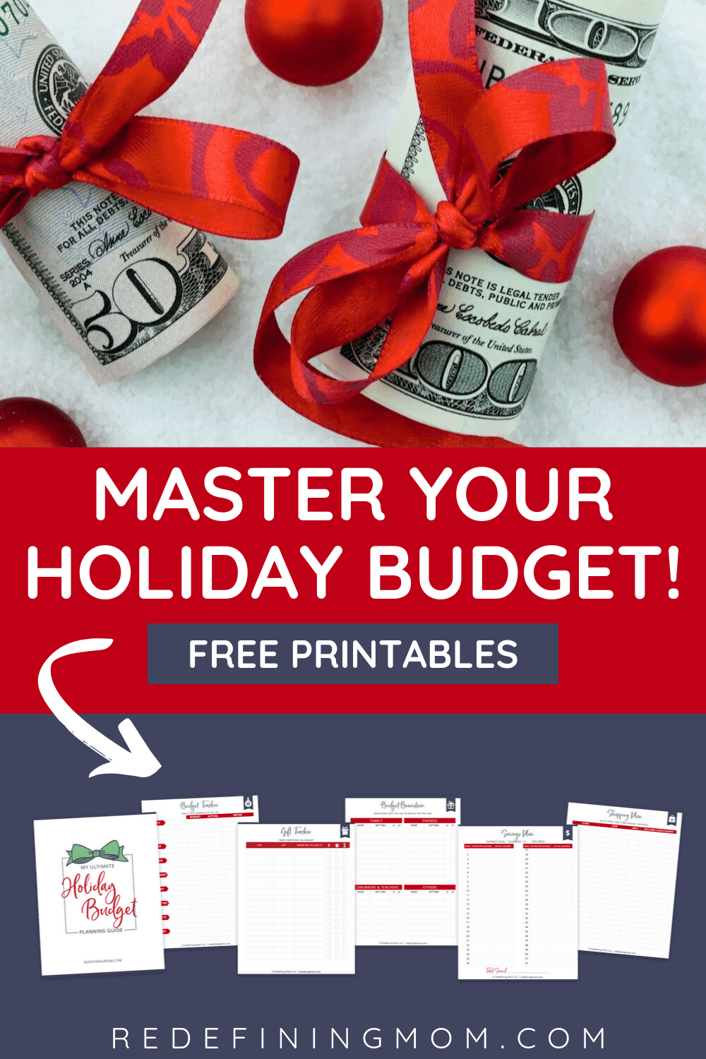 I am finally planning early this holiday season! I am so glad I found these free printable holiday budget planning sheets! I'm finally on track with my spending this holiday season. Enter your name and email for instant access.