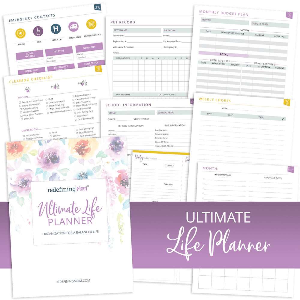 Redefining Mom's Ultimate Life Planner