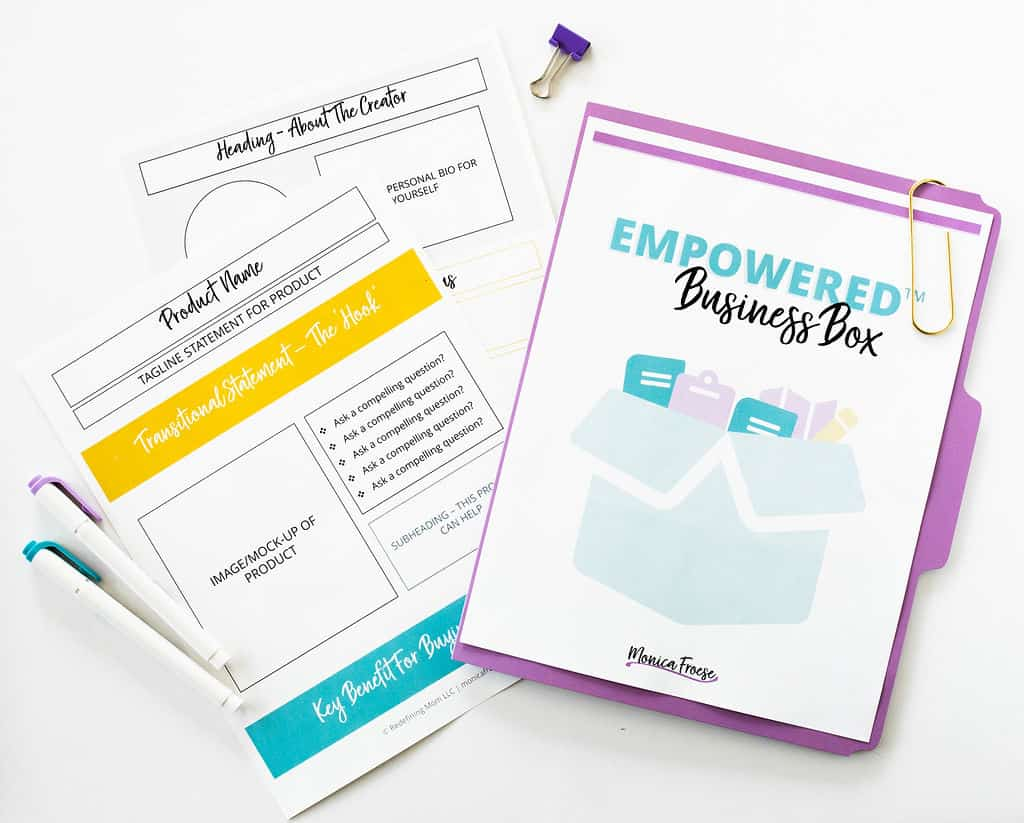 see what's inside the Empowered Business Box